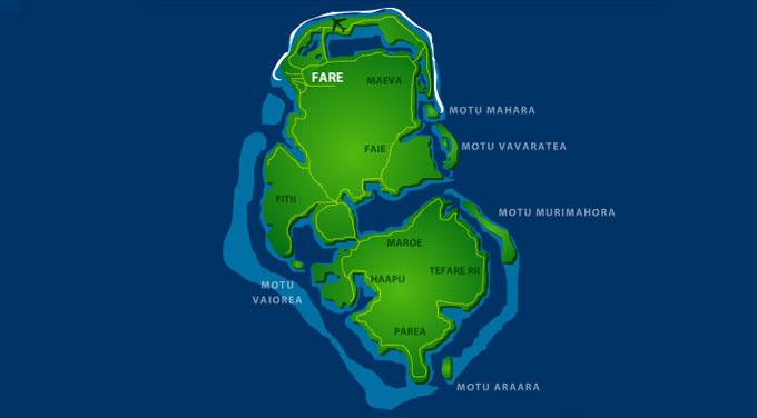 viaje polinesia Huahine