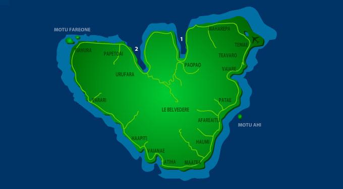 Viaje a Polinesia Moorea