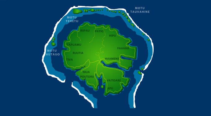 Viaje a Polinesia Taha'a