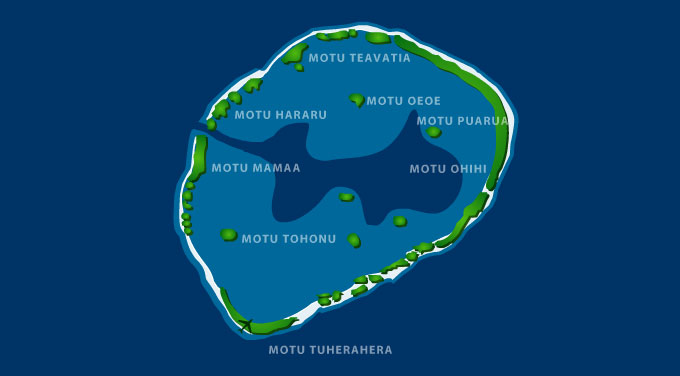 Viaje a Polinesia Tikehau